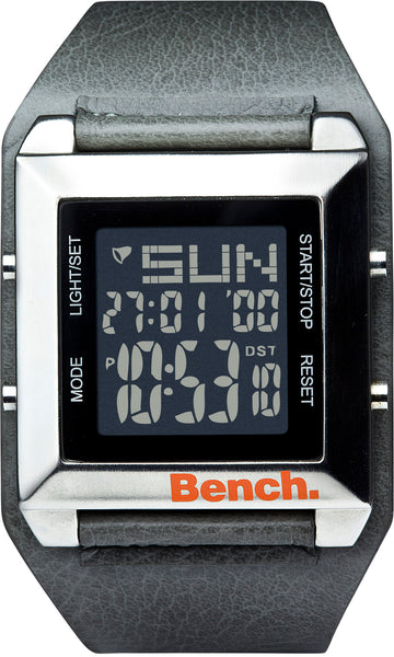 Bench Men's Quartz Watch with LCD display