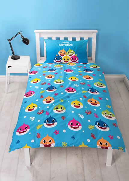 Baby Shark Licensed Bed Covers