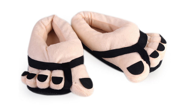 Big Feet Novelty Slippers