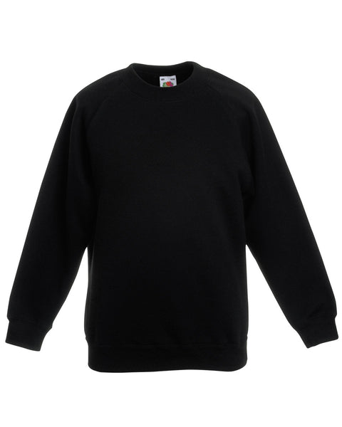 Fruit of the Loom Kid's Raglan Sleeve Sweatshirt