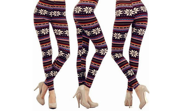 Fleece Lined Nordic Leggings
