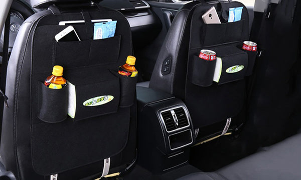 Car Backseat Multi-Pocket Storage