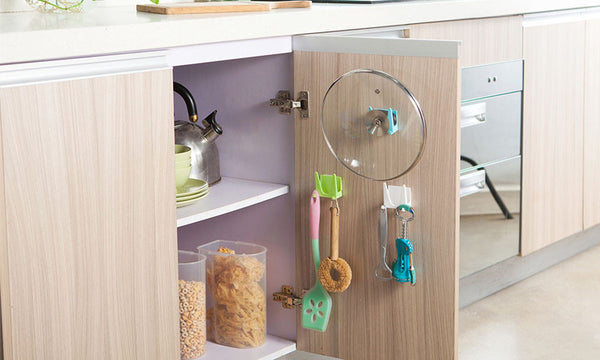 Cabinet Or Wall Storage Hooks (2 Pack)