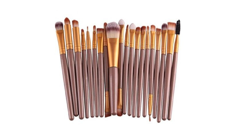 20-Piece Makeup Brush Set