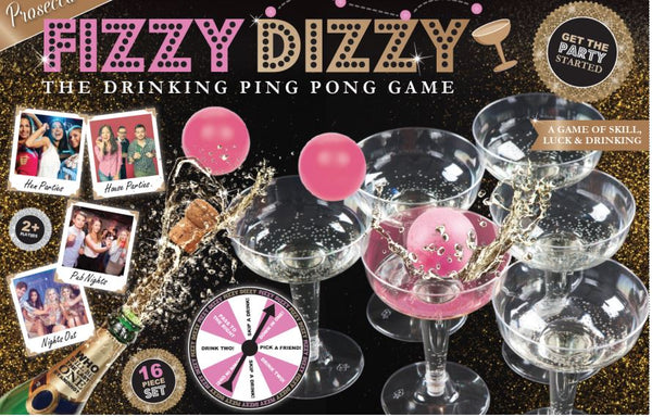 Fizzy Dizzy Ping Pong Drinking Game