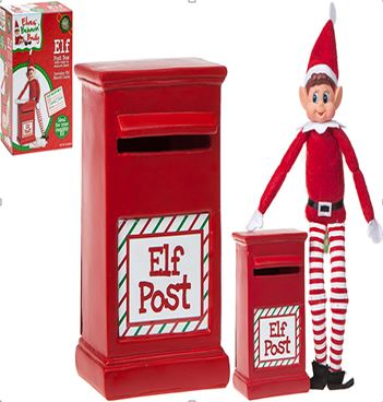 Elves Behavin' Badly Elf Postbox