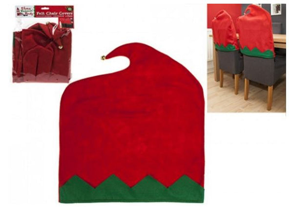 2pc Elf Felt Chair Back Cover