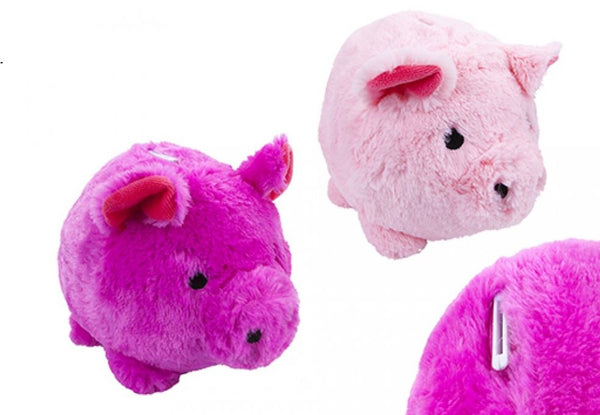 28cm or 35cm PLUSH PIGGY BANKS