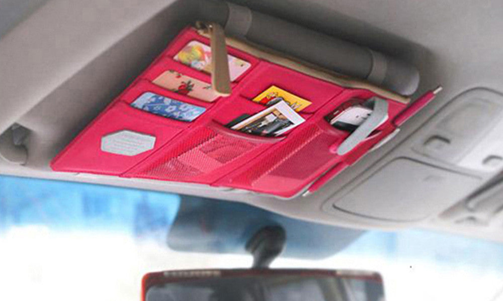 Car Sun Visor Storage