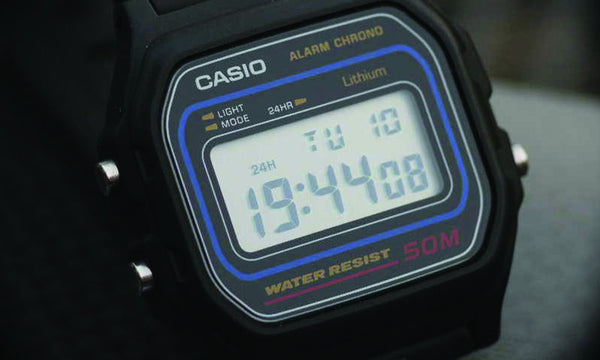 Casio Men's Digital Watch, Black