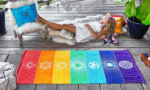 Chakra Rainbow Throw