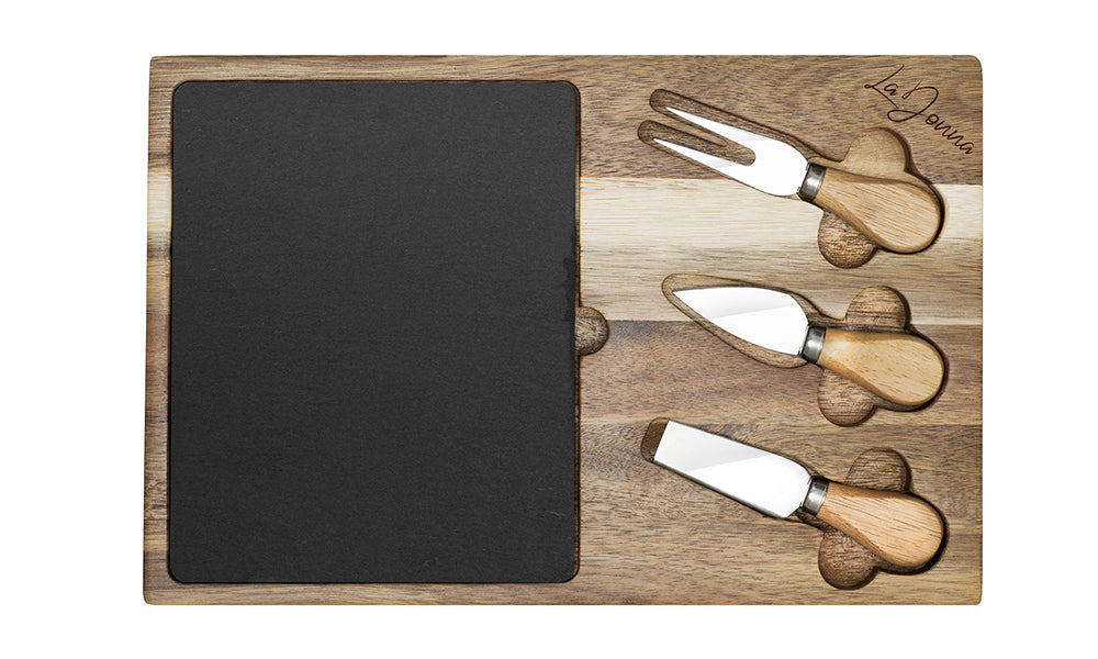 Rectangle Cheese Board with Slate
