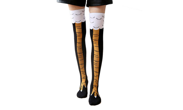 Chicken Legs Knee-High Socks