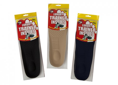 2 Pair Insoles for Trainers and Shoes