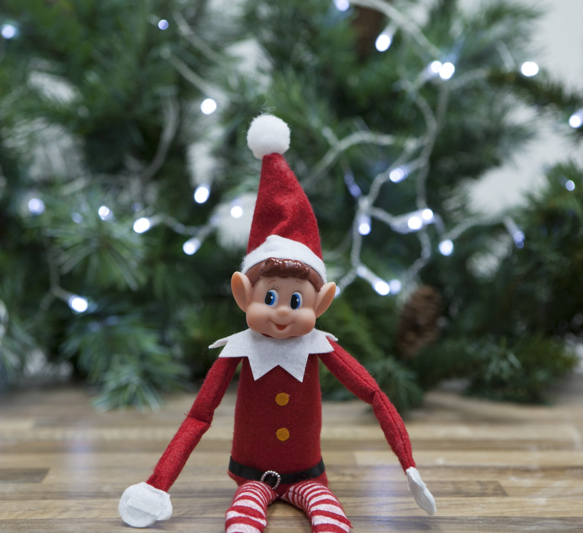 Premium Christmas Poseable Scout Elf
