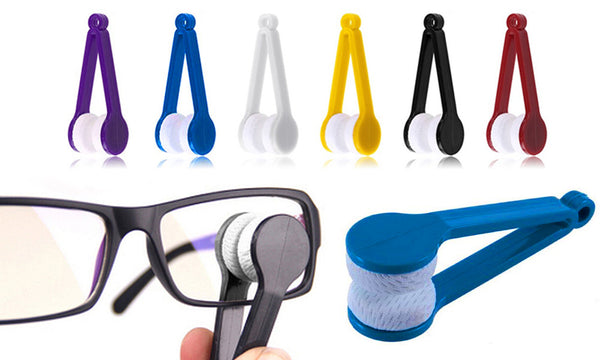 Mini Microfiber Glasses/Phone/Watch Cleaning Clips (Pack of 6)