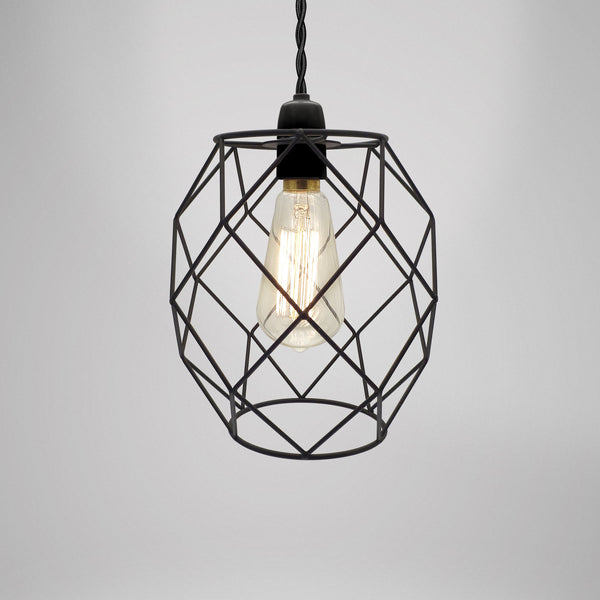 Modern Industrial Style Metal Light Fitting