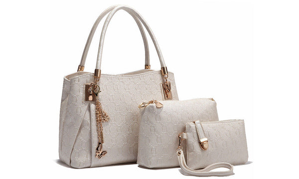 3 Piece Ladies Handbag Set