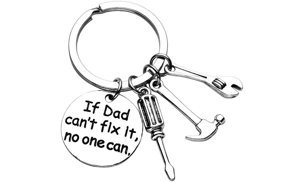 Dad Keychain Keyrings