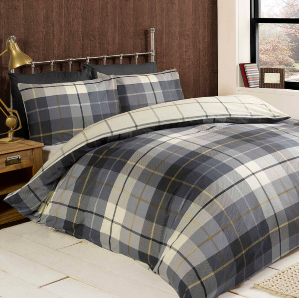 Rapport Winter Lewis Check Duvet sets