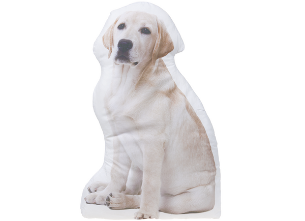 Dog Shaped Throw Cushion