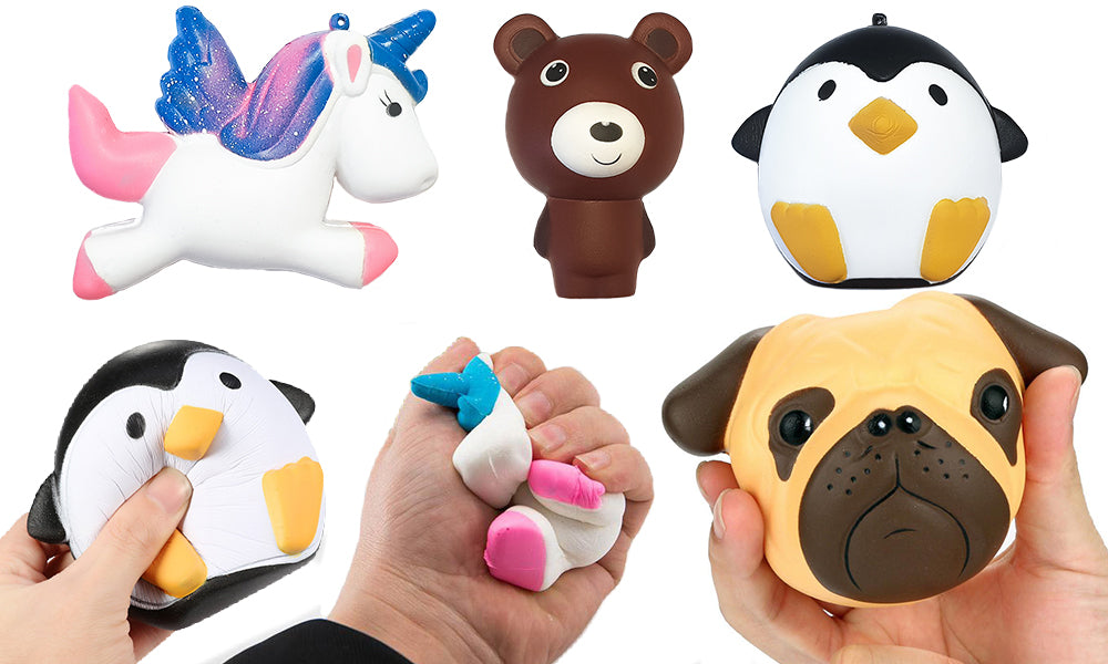 Slow Rising Giant Animal Squishy Toys