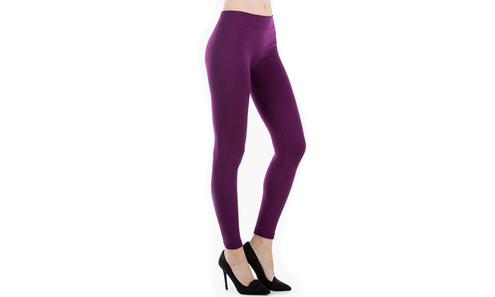 Women's Fleece-Lined Leggings (4-Pack)