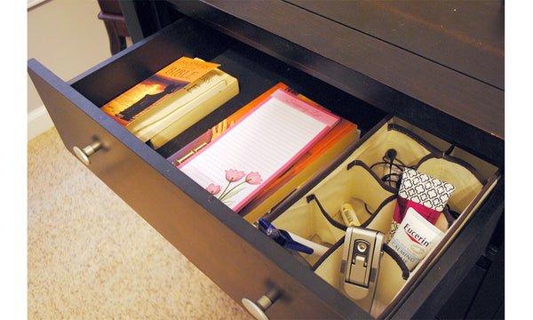 4 Pc Drawer Organiser