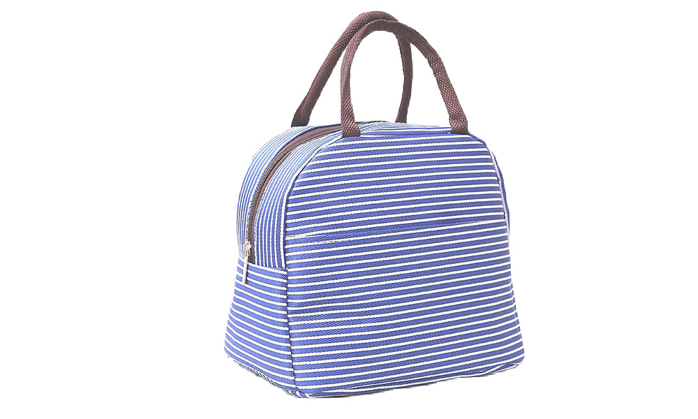 Striated Thermal Cooling Lunch Bags
