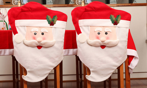 Santa Claus Face Seat Cover