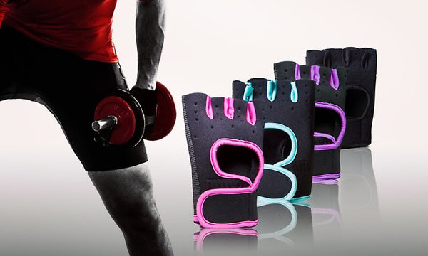 Fitness Training Gloves in a Variety of Colours