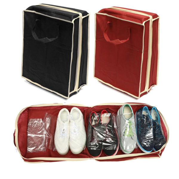 2 Pack Shoe Storage Carry Bag