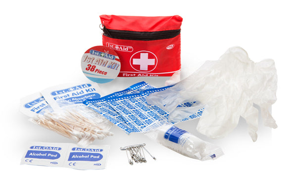 First Aid Kit 38 Piece Set