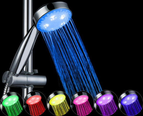 7 Colour LED Automatic Changing Shower Head