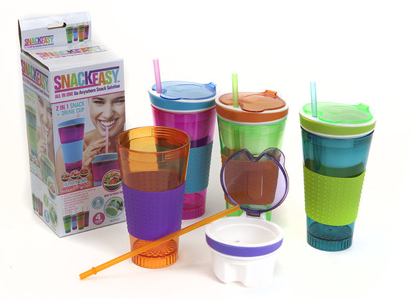 Snack Easy Travel Cup Snack Drink in One Container
