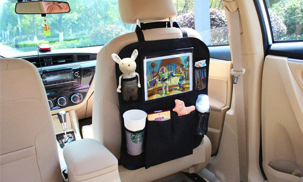 Backseat Tablet Storage Organiser