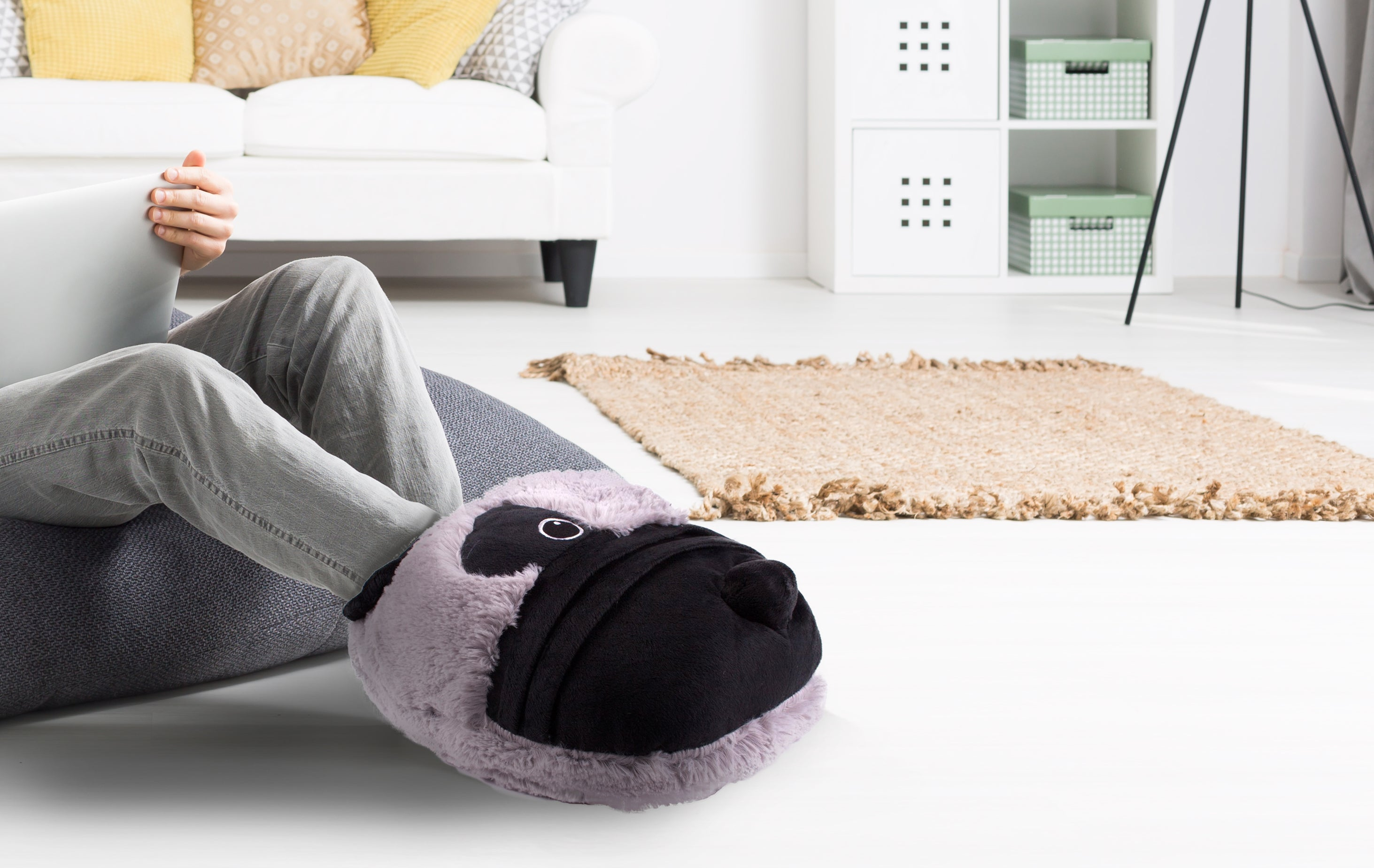 Super Soft Novelty TV Slipper