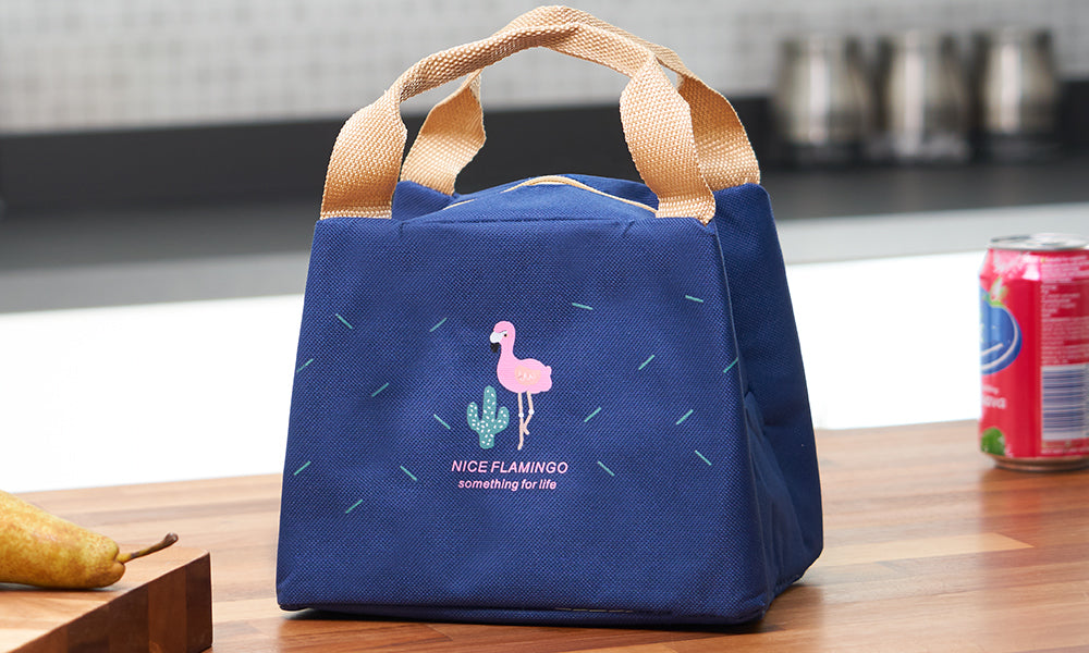 Portable Flamingo Thermal Insulated Lunch Bags V2