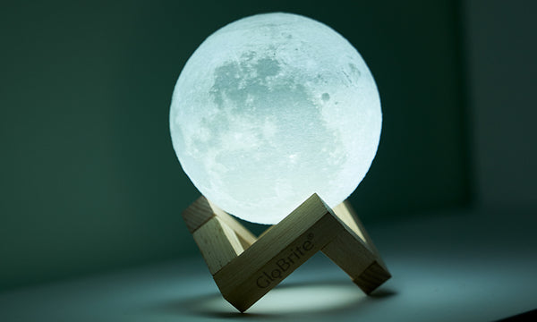 GloBrite Touch Control LED 3D Moon Lamps - 3 Sizes