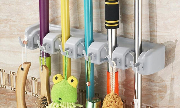 Broom, Mop, Tool Wall Organiser