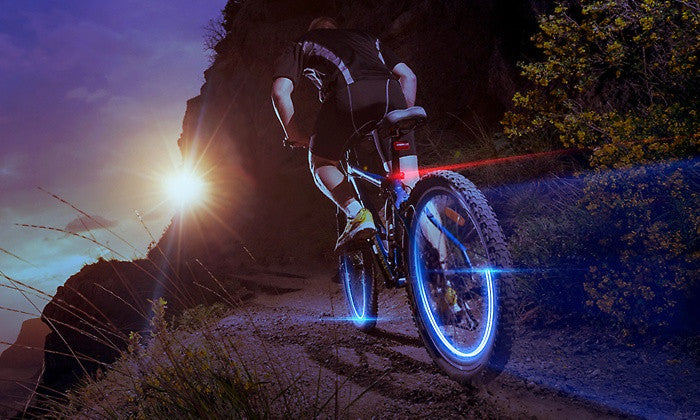 LED Lights for Bike or Car Wheels