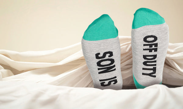 Mum, Dad, Daughter, Son Are Off Duty Socks