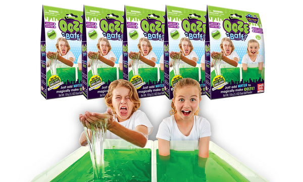 Zimpli Kids Ooze Baff 5 Pack Bundle