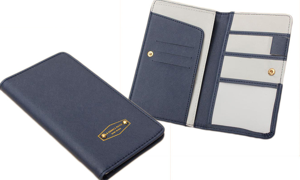Slim Passport and Travel Document Organiser