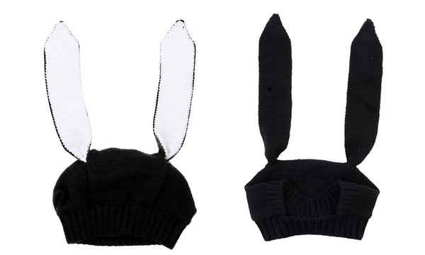 Baby Knitted Bunny Ear Hat