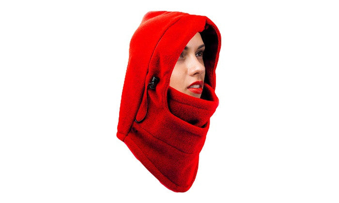 8-in-1 Heavyweight Adjustable Fleece Coverup Hood