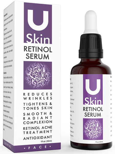 USkin Vitamin C Serum For Face with Hyaluronic Acid