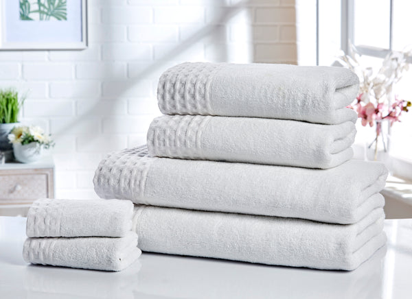 Six-Piece 550gsm Retreat Spa Grade Towel Bale