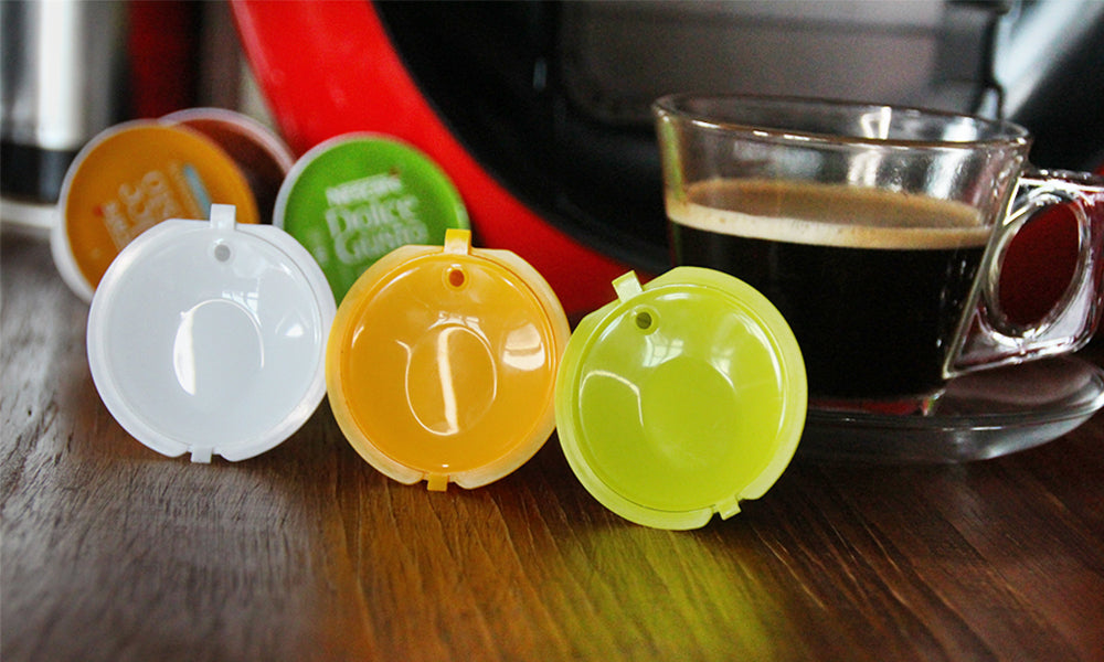 Refillable Coffee Capsule Pods
