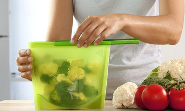 Microwavable, Freezable, Airtight Food Storage & Cooking Bags